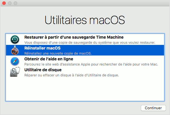 Utilitaire macOS