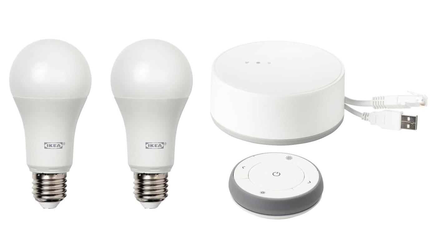 Kit IKEA lampe connectées pour Apple HomeKit