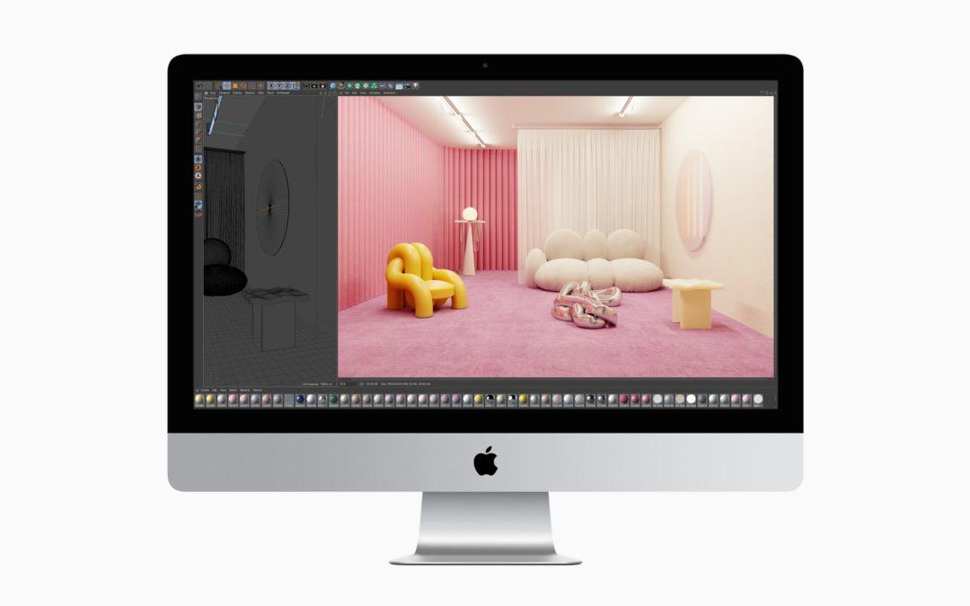 Apple sort sa dernière version de l'iMac 27 pouces 5k avec un processeur Intel