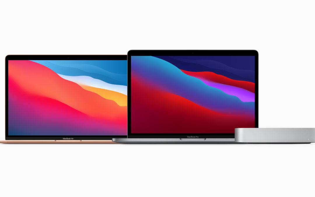 La nouvelle gamme Mac avec sa puce M1